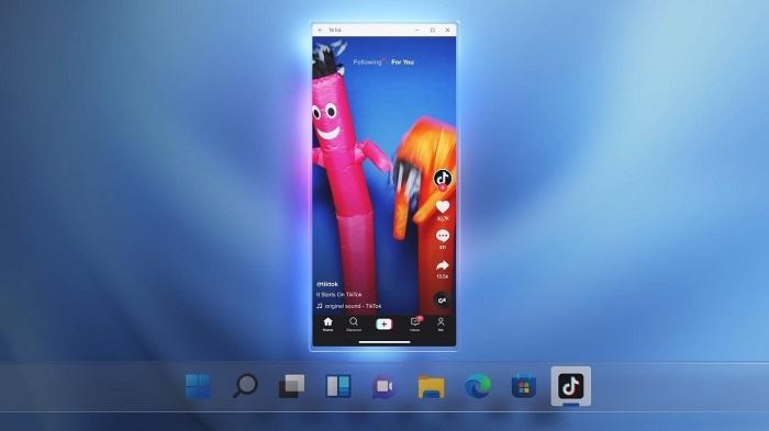 微软允许用户在Windows 11上侧载Android APK安装包