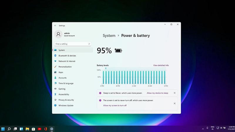 Win11为设置和服务引入全新推荐功能