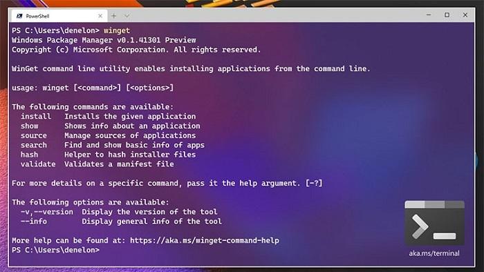Windows软件包管理器迎来v0.3预览版更新