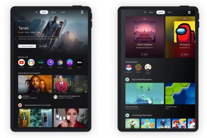 谷歌为Android平板引入娱乐空间功能:整合视频、游戏和书籍