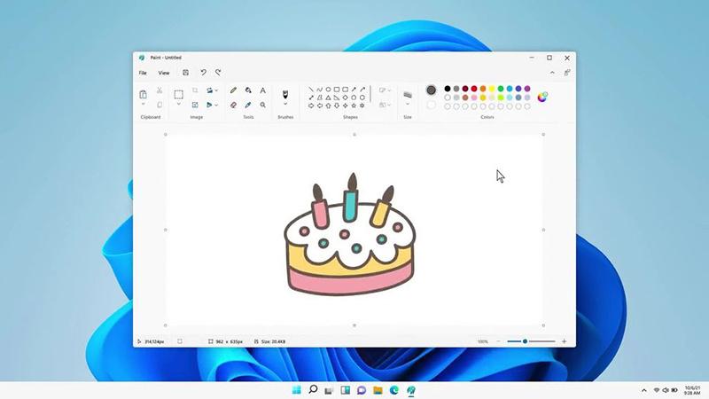 Windows 11将迎来全新设计的Paint应用程序