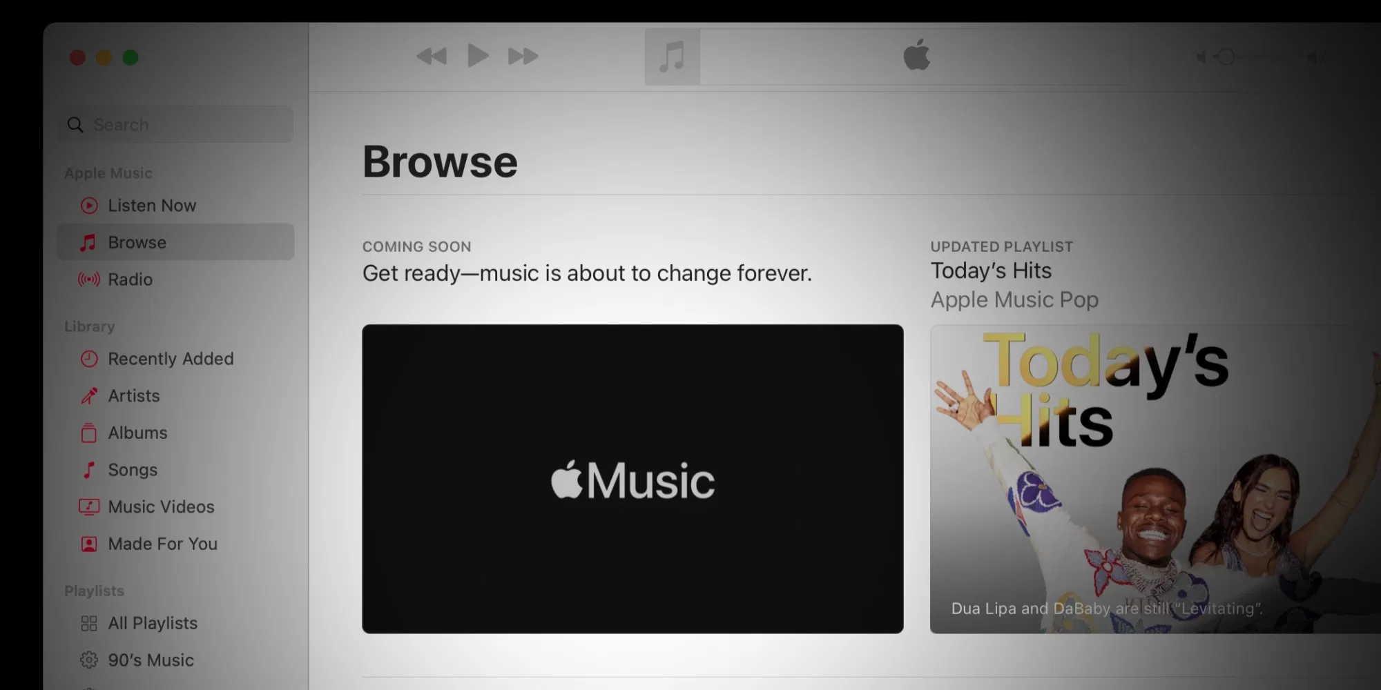 Apple Music网页版应用泄漏 确认了无损音乐流媒体功能