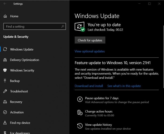 Windows 10 2021年5月更新(21H1)现已向用户更广泛提供