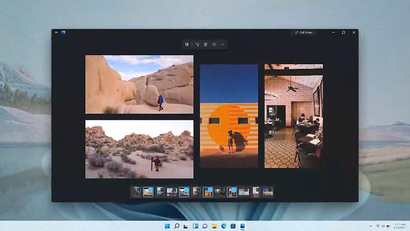 一些微软应用程序将在Win11中获得新的设计