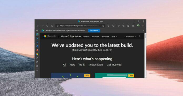 微软 Edge 浏览器整合 Office:一键打开 Word、Excel 和 PowerPoint 文档