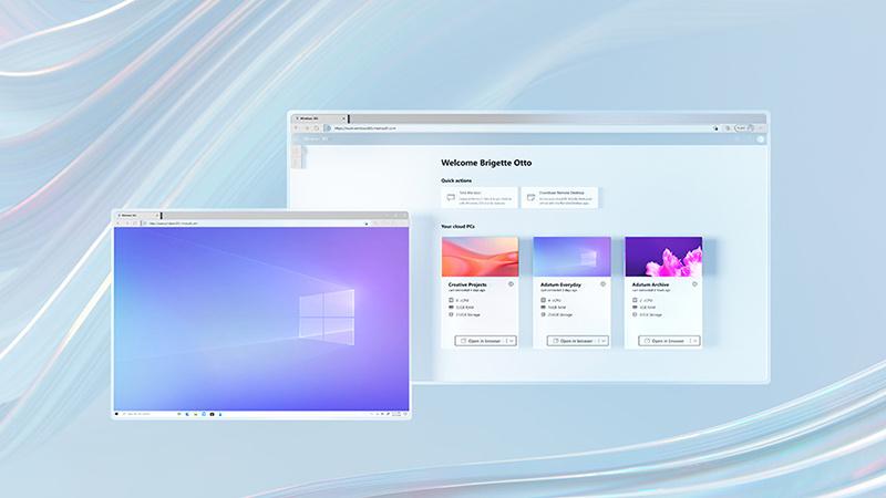 微软宣布为商业客户提供Windows 365 Cloud PC服务