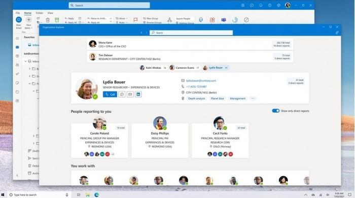 微软计划为Win10系统开发统一的电子邮件客户端