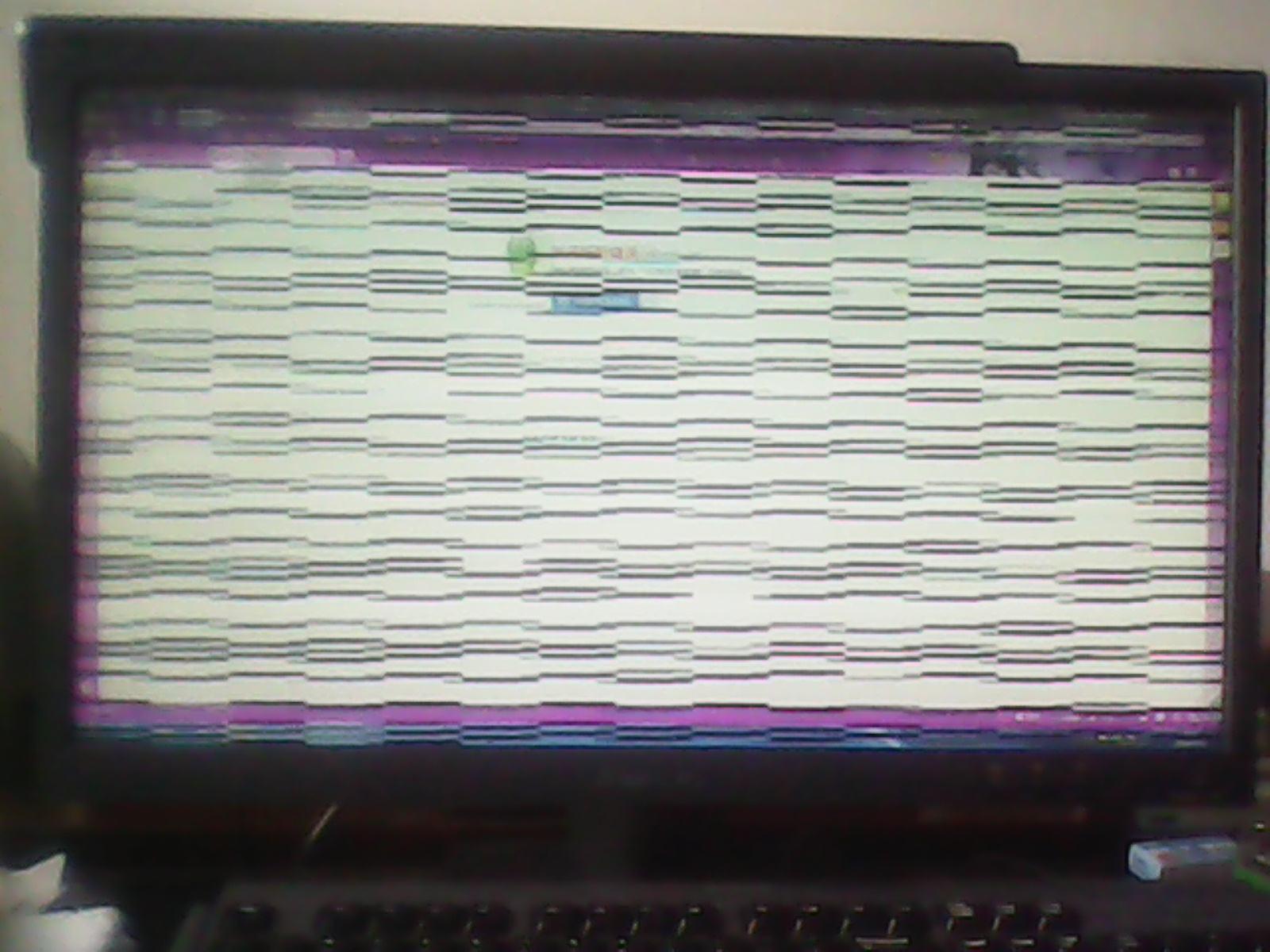 笔记本花屏怎么办?笔记本屏幕出现条纹的处理方法