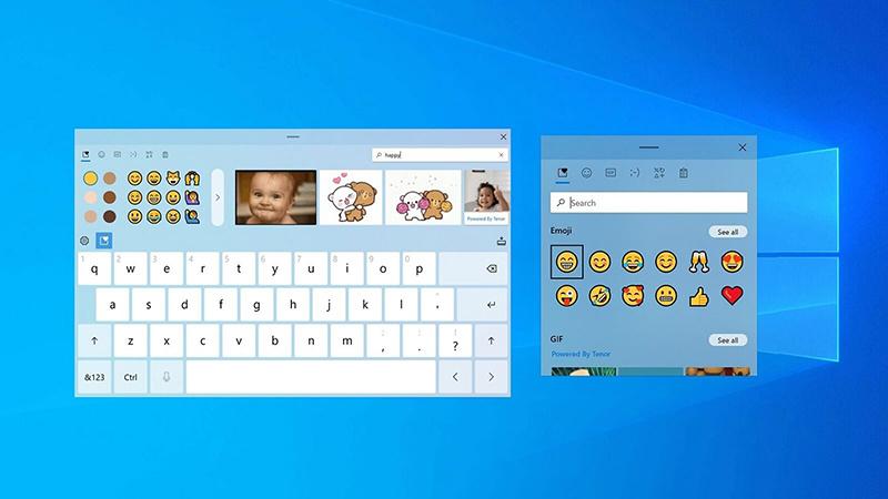 Win10触摸键盘将获得主题功能和更多定制选项