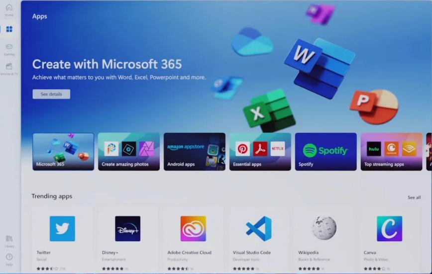 微软激励机制奏效,OBS Studio 等上架 Win11 应用商店